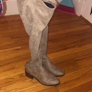 NWOT Steve Madden thigh high boots 6.5